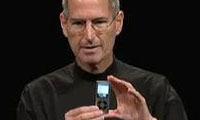 Steve Jobs con iPod Nano _Settembre 2008