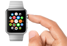 Apple Watch mano