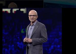 Satya Nadella WPC 2015 Microsoft