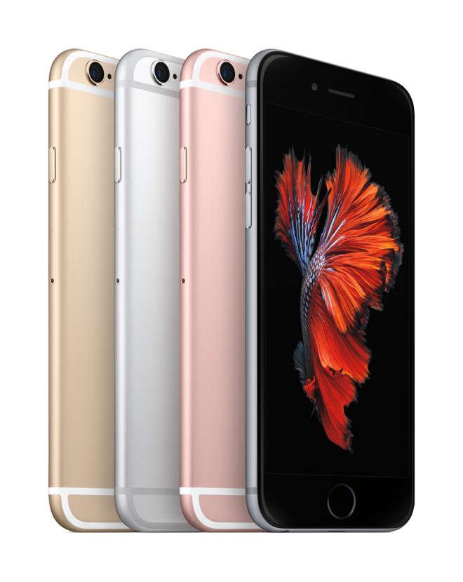 iPhone 6s quattro colori