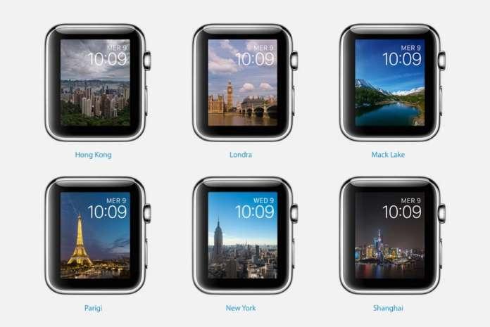 quadranti Apple watch disponibile watchOS 2