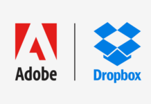 Adobe e dropbox loghi