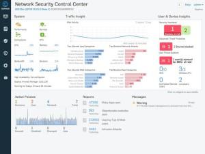 Sophos XG Firewall - Control Center