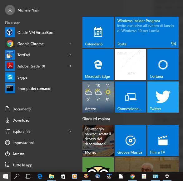 Guida Windows 10