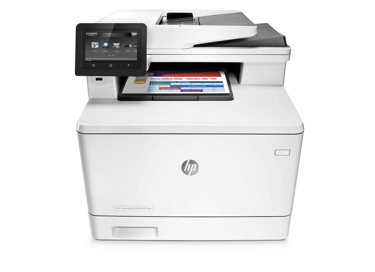 2-HP Color LaserJet Pro MFP M377dw Printer