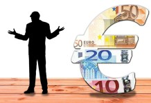 debiti con ii fisco uomo soldi euro