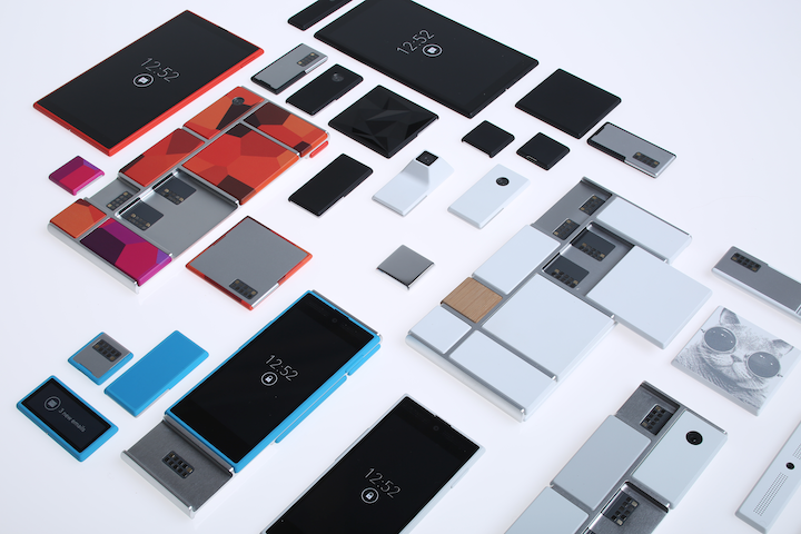 google Project_Ara_scattered_parts