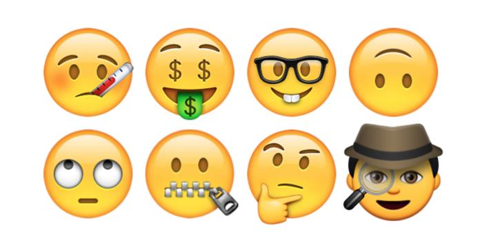Emoji sondaggi via iphone