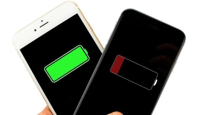 Risparmiare la batteria dell'iPhone