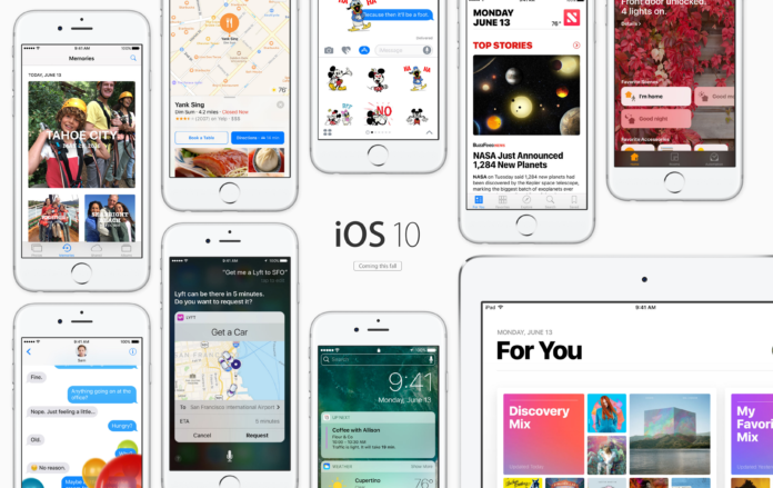 iOS 10 macos sierra