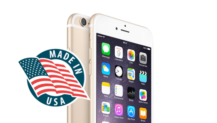 produrre iphone in USA