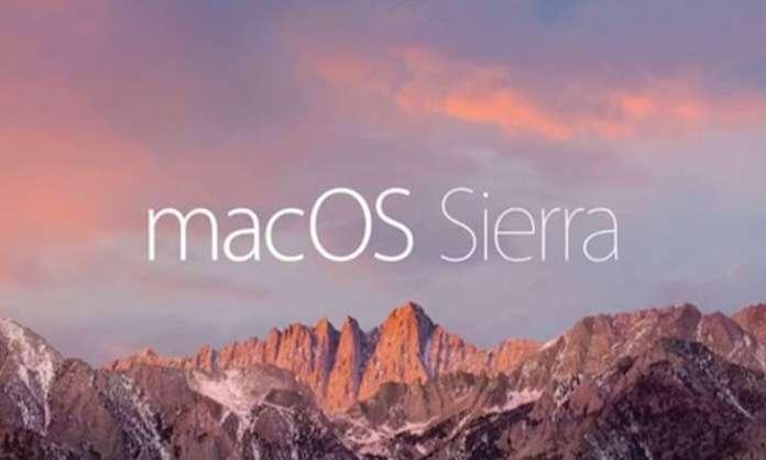 macOS Sierra safari