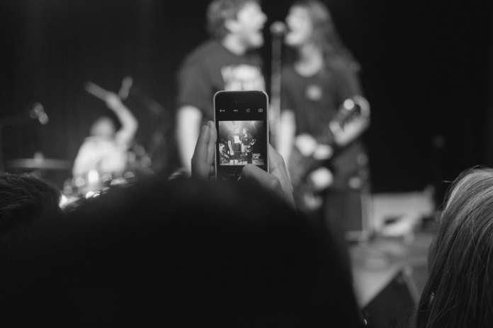 iPhone concerto