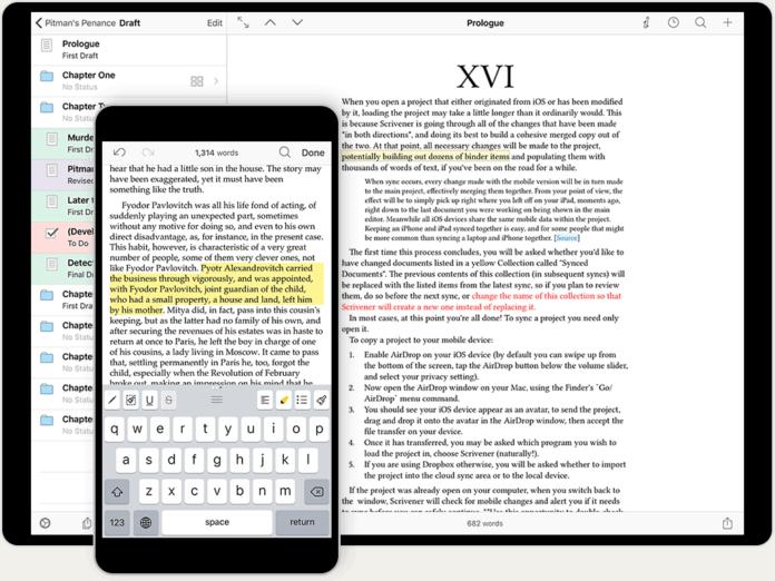 Scrivener iOS