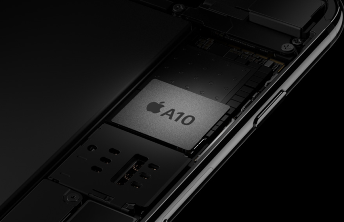 iPhone 7 chip A10 Fusion