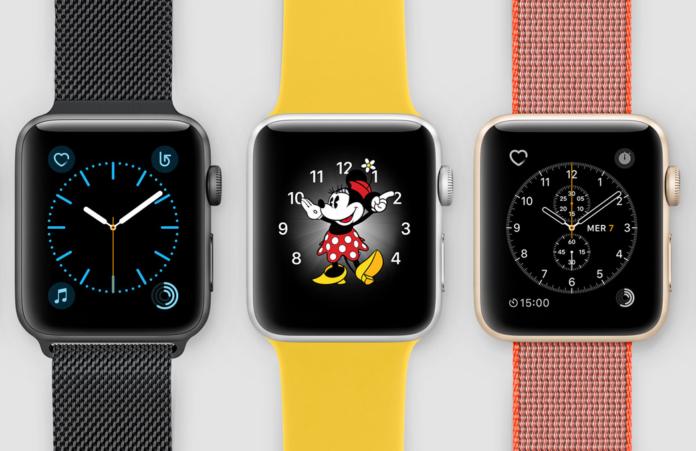 watchOS 3 smartwatch