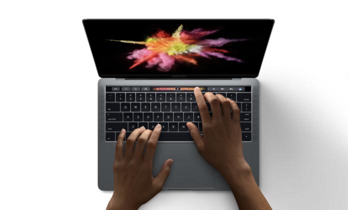 nuovi MacBook Pro 2016 touch bar