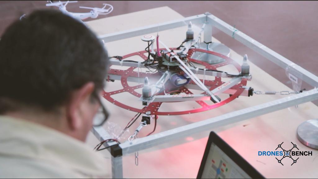 Dronesbench, il banco di prova dei droni