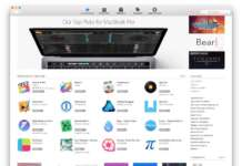 Touch Bar Mac App Store