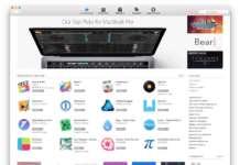 Touch Bar Mac App Store