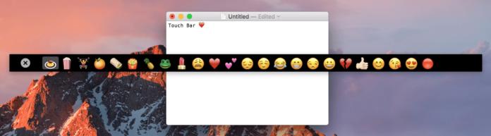 Touch Bar senza MacBook Pro 2016