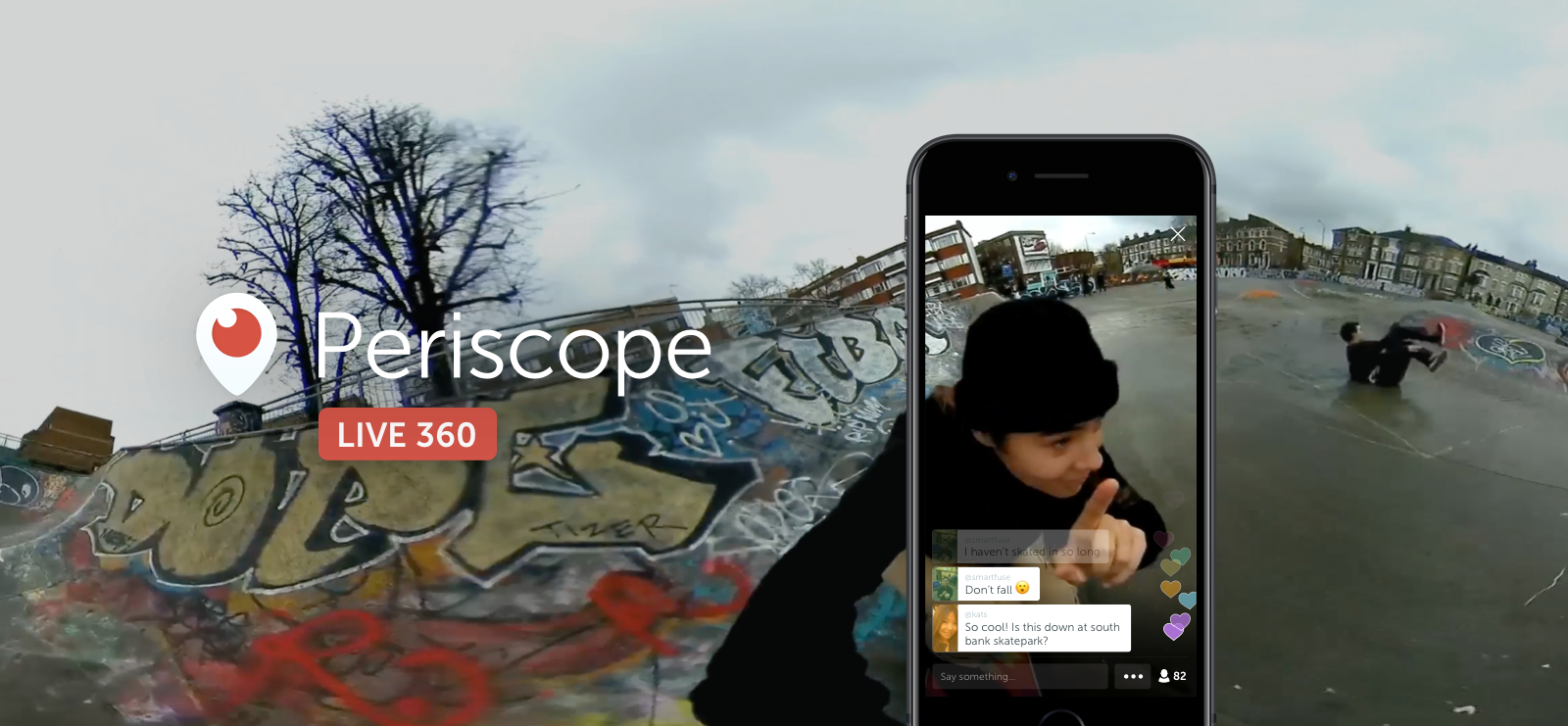 Periscope360 video live a 360 gradi