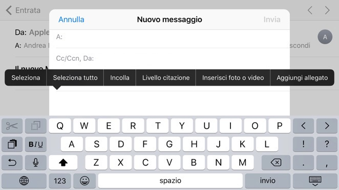 allegati gmail su iphone