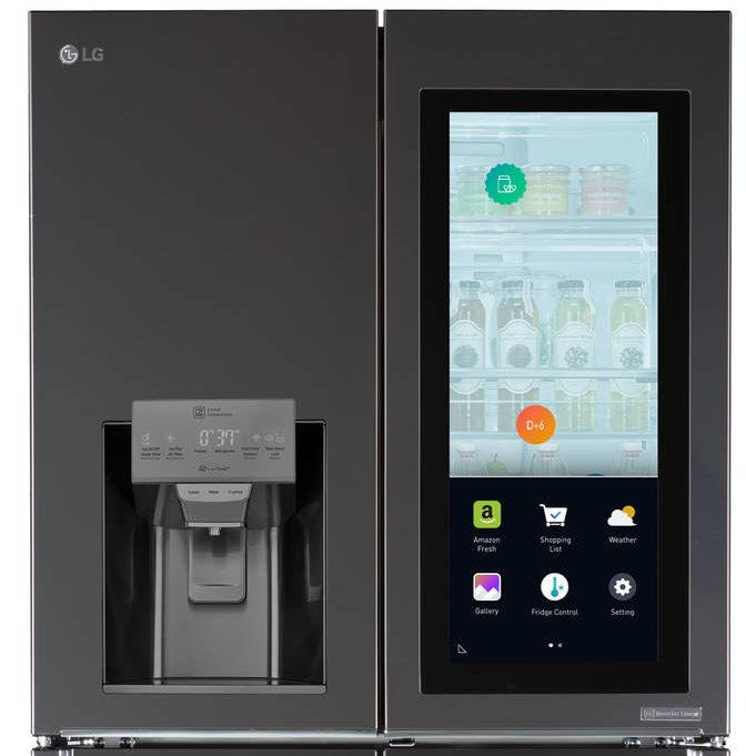 LG Smart Instaview Refrigerator 01