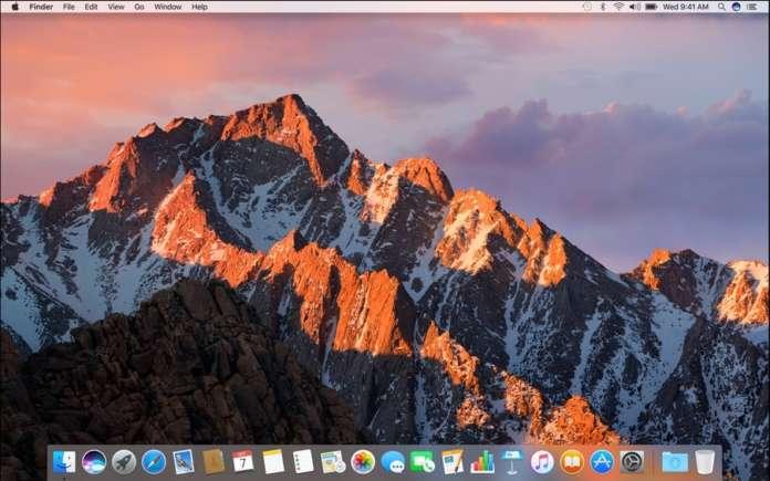barra menu del Mac