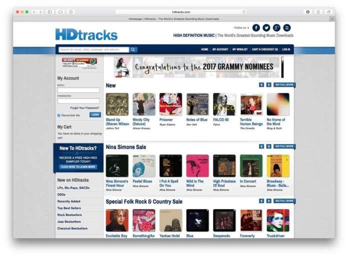 musica in alta risoluzione HDtracks