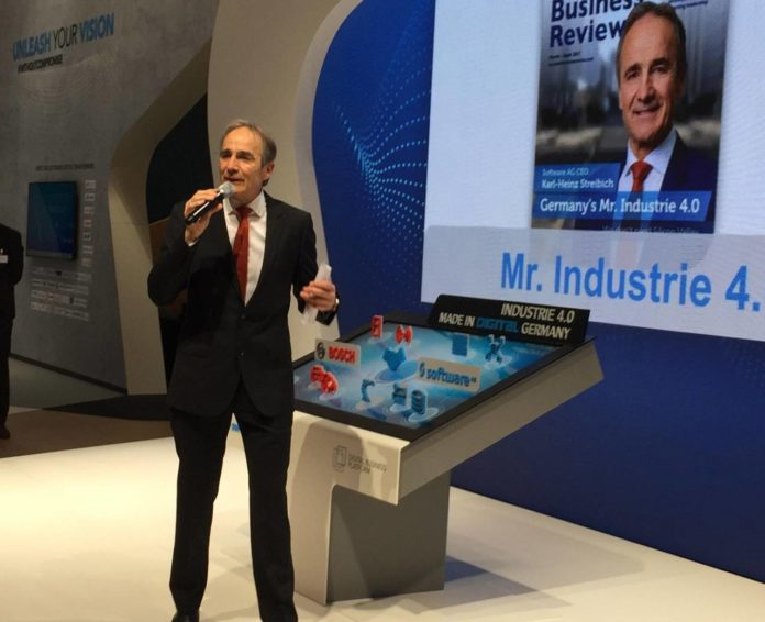 Software AG Karl-Heinz Streibich Mr Industry 4.0