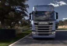 Motrice Scania Apple Carplay