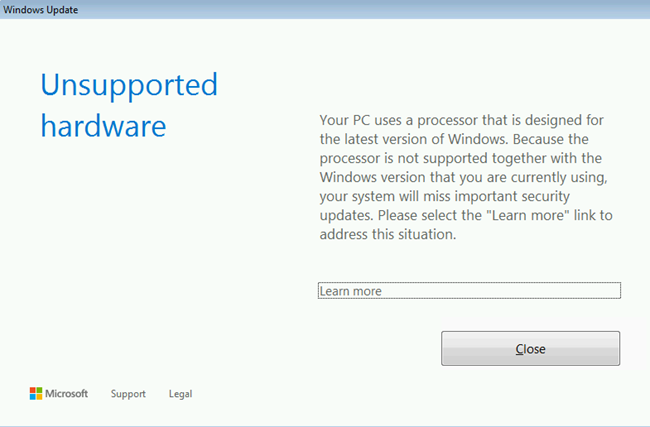 unsupported-hardware