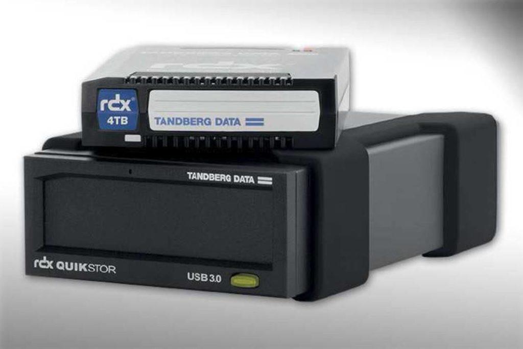 Storage professionale per Mac con RDX Overland-Tandberg