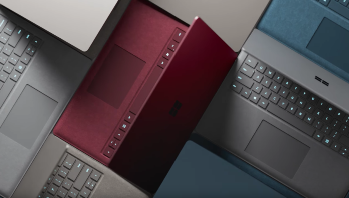 Microsoft Surface Laptop nuova gamma