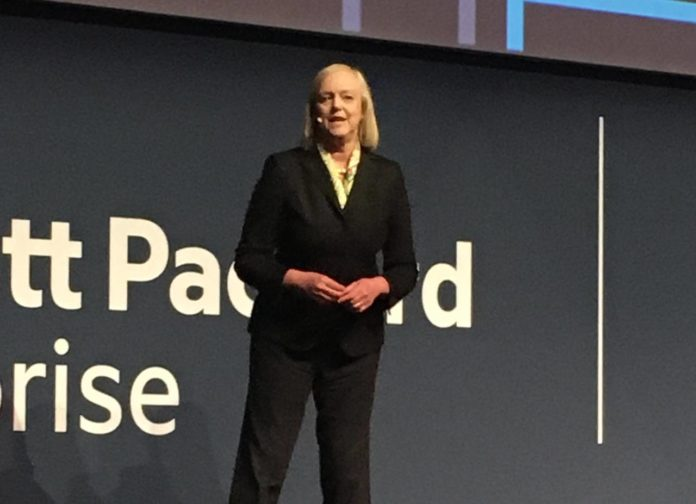 Meg Whitman Ceo HPE