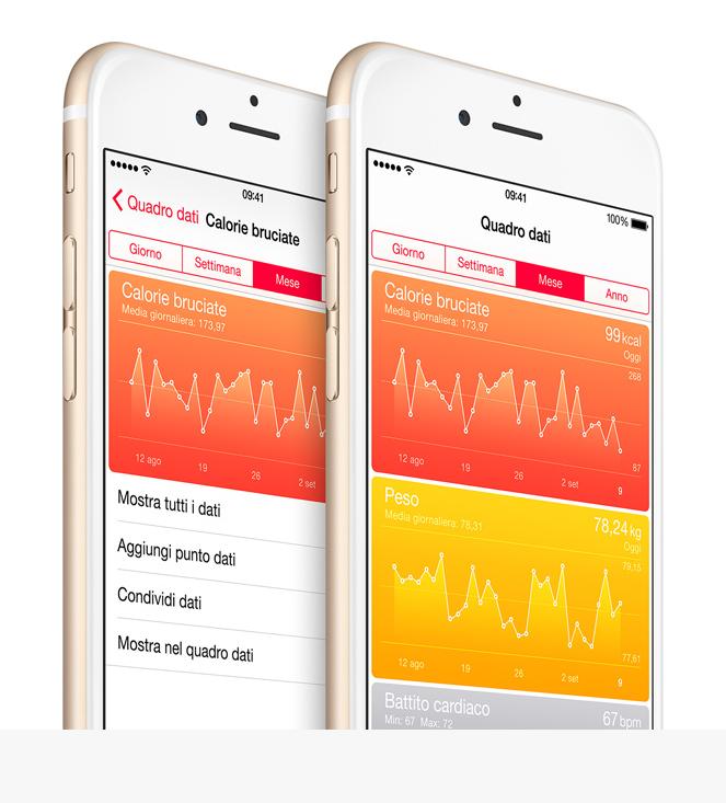 Nel futuro di iPhone c'è l'archivio di dati clinici