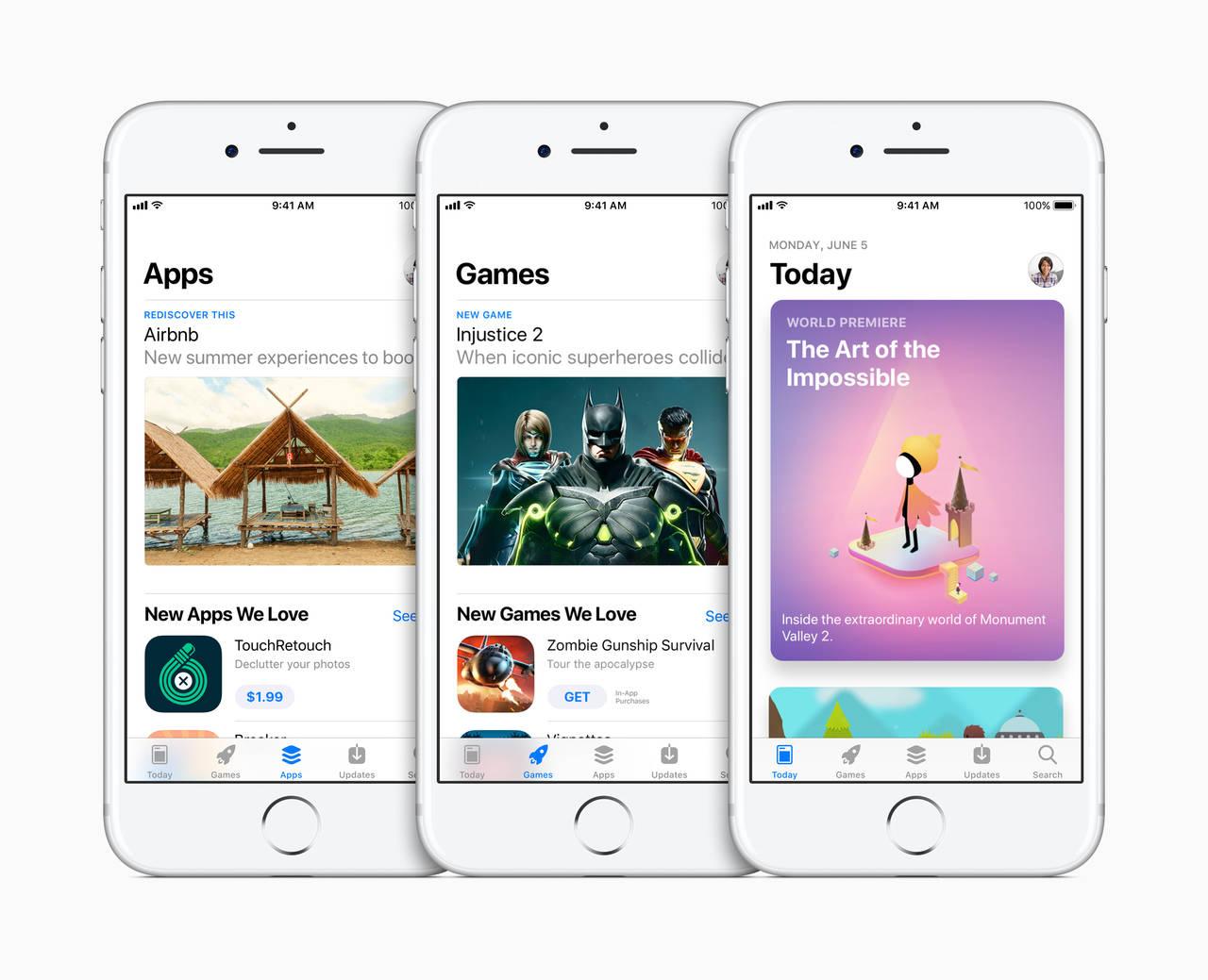 Nuovo app store WWDC 2017