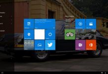 Interfaccia Windows 10