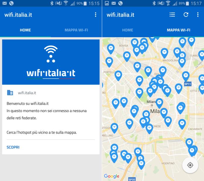 App wi-fi.italia.it