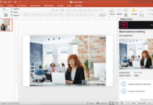 add-in di Adobe Stock per Microsoft PowerPoint