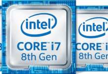 cpu intel 8th Gen