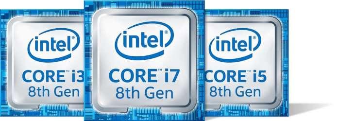cpu intel 8th Gen