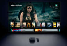 apple tv 4k con schermo