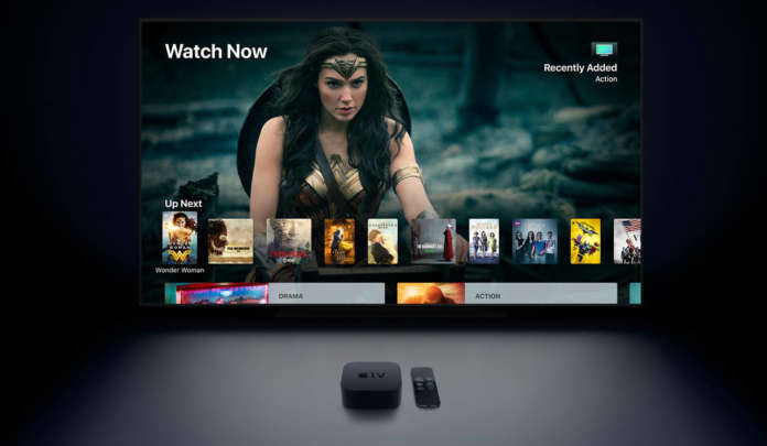 apple tv 4k con schermo