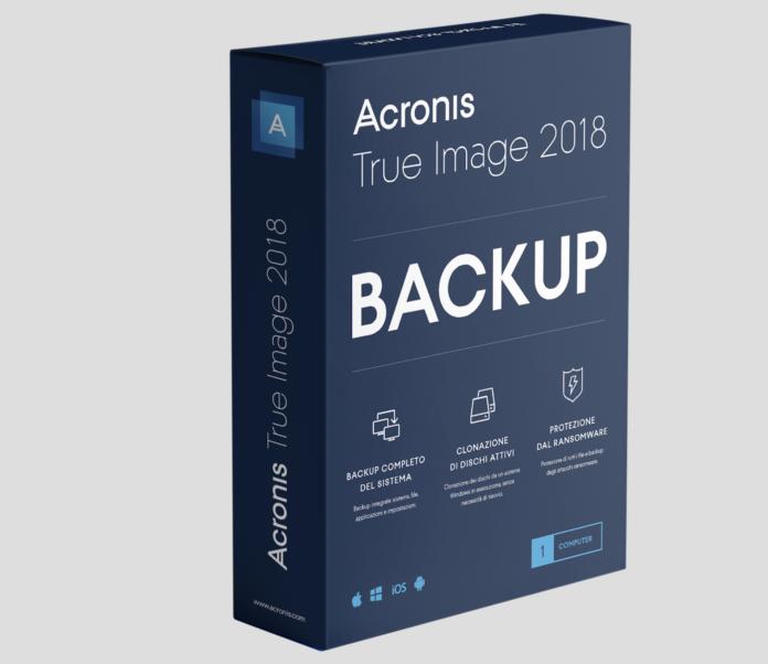 Acroni True Image Backup 2018