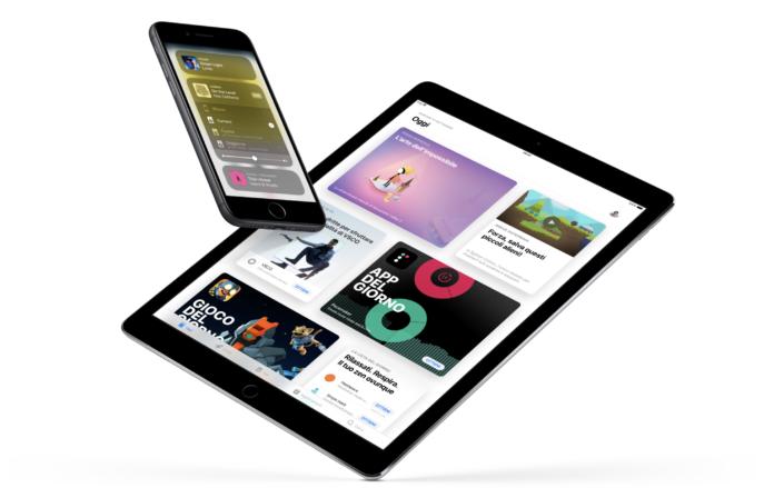 iOS 11 pubblicità online
