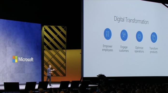 Microsoft ignite 2017 digital transformation
