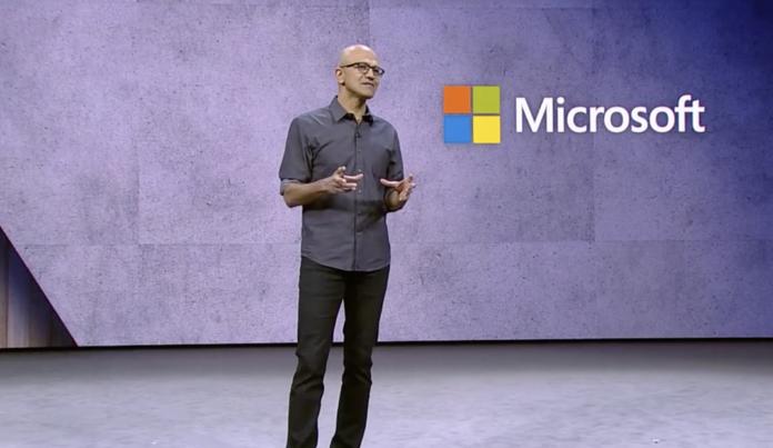 Microsoft Ignite Staya Nadella