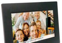 cornice digitale Social Photo Frame Wi-Fi